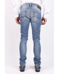 DIESEL - Blue 'thavar' Jeans for Men - Lyst