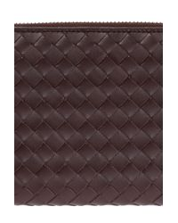 Bottega Veneta Brown 'intrecciato' Wallet for men