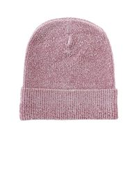 Alexander Wang - Pink Velour Hat - Lyst