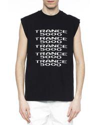 M I S B H V - Black Sleeveless T-shirt for Men - Lyst