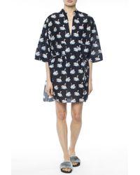 Stella McCartney - Black Swan Motif Dress - Lyst