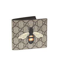 Gucci - Multicolor 'gg Supreme' Canvas Wallet for Men - Lyst