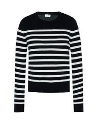 Saint Laurent - Multicolor Striped Sweater - Lyst