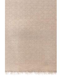 Ferragamo - Brown Logo Scarf for Men - Lyst