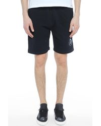 DIESEL - Pan Shorts Black for Men - Lyst