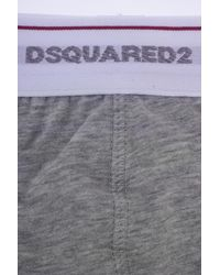 DSquared² - Gray Twin Briefs for Men - Lyst