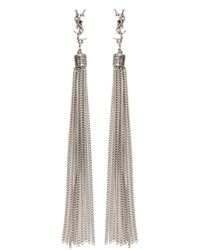 Saint Laurent - Multicolor 'loulou' Earrings - Lyst