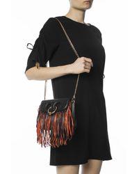 J.W. Anderson - Black Fringed Shoulder Bag - Lyst