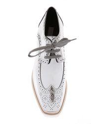 Stella McCartney - Multicolor 'elyse' Platform Shoes - Lyst