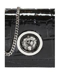 Versus  Black 'lion' Shoulder Bag