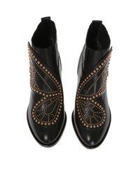 Sophia Webster - Black 'karina Butterfly' Heeled Ankle Boots - Lyst