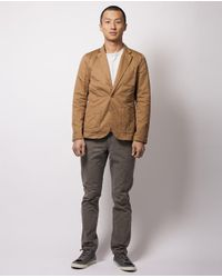 Scotch & Soda | Brown Khaki Short Blazer for Men | Lyst