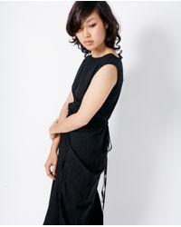 Uzi   Refugee Dress / Black Cotton   Lyst