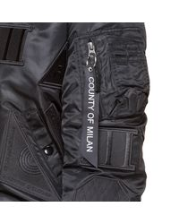 Marcelo Burlon - Black Rayen Alpha Jacket for Men - Lyst