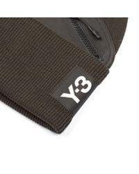Y-3 - Green Pocket Beanie for Men - Lyst