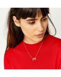 Warehouse - Metallic Rainbow Necklace - Lyst