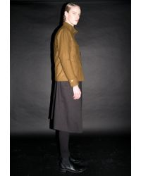 BONNIE&BLANCHE - Multicolor Wool Field Jacket Brown - Lyst
