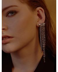 VIOLLINA - Multicolor Another V Waterfall Stone Single Earring - Lyst