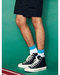 W Concept - [unisex] Sd Line Socks White for Men - Lyst