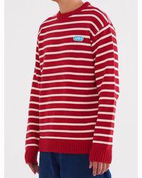 W Concept - Stripe Knit Red - Lyst