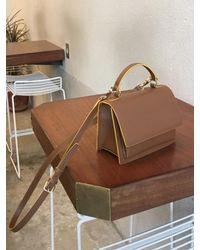 DEMERIEL - Multi-classic Bag Tan-brown Mini - Lyst