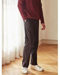 LIUNICK - Multicolor Likeable Straight Leg Slacks_black for Men - Lyst