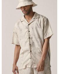 OVERR - Natural [unisex] Water Washing Beige Shirt for Men - Lyst