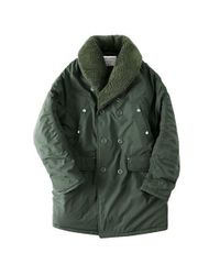 W Concept - Green M43 Th Mackinaw Shawl Coat (kk) for Men - Lyst