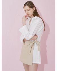 W Concept | Latte Mix Shirt White | Lyst