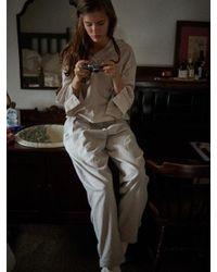 W Concept - Multicolor Via Jane Easy Cotton Pants - Lyst