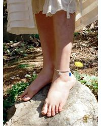 VON DITOLE - Multicolor Smile Daisy Ankle Bracelet - Lyst