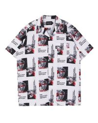 SHETHISCOMMA - White [unisex] Hip Statu Shirts for Men - Lyst