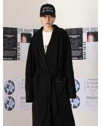 TARGETTO - Oversize Robe Black - Lyst