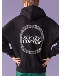 SLEAZY CORNER - [unisex] Symbol Hoodie Black - Lyst