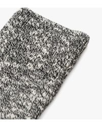 Norse Projects Gray Ebbe Thick Wool Sock for men