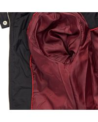 Wilsons Leather - Black Famous Maker Belted Fabric Quilted Jacket W/ Hood - Lyst