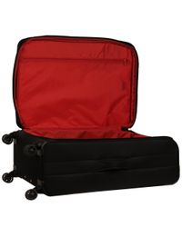 """Wilsons Leather - Black Famous Maker Quilted Softside 28"""" Quilted Luggage - Lyst"""
