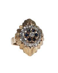 Vanilo - Metallic Ines Ring - Lyst