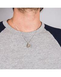 Edge Only - Metallic Geek Pendant Silver - Lyst