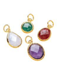 Ottoman Hands - Multicolor Amethyst Charm - Lyst