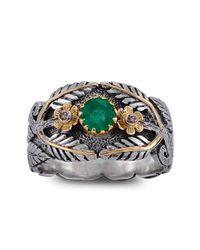 Emma Chapman Jewels - Green Ava Emerald Ring - Lyst