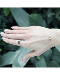 KAMENA JEWELLERY - Metallic Stones Bracelet Brass Shiny - Lyst