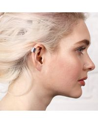 Maya Magal - Metallic Little Ear Cuff Silver - Lyst