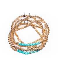 Twenty-2 Jewelry - Metallic Turquoise Nugget Gold - Lyst