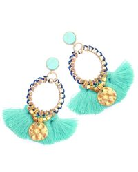 Clare Hynes Jewellery | Martha Earrings Turquoise & Blue | Lyst