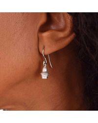 Origin 31 - Metallic Janus Extrovert Drop Earring - Lyst