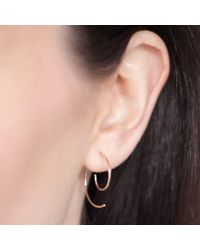 Natasha Sherling - Metallic Spiral Earrings - Lyst