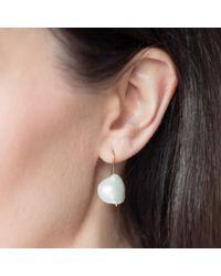 Natasha Sherling - Metallic Meringue Earrings - Lyst