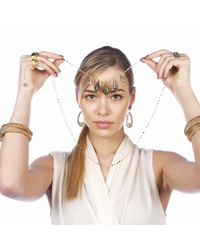 Carousel Jewels | Metallic Labradorite Statement Necklace | Lyst