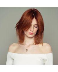 Nina Kastens Jewelry | Metallic Mini Scarab Necklace Silver | Lyst